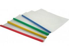 папка Economix E31262 с бок. планкой-прижимом пласт. 10мм. 2-65листов А3  (5/150...