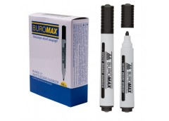 маркер Buromax  для магнитных досок черный  ВМ.8800-01  (12/144/864)