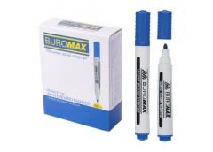 маркер Buromax  для магнитных досок синий  ВМ.8800-02  (12/144)