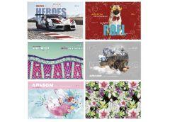 альбом Бриск Gold на скобе АВ-30  12л./120гр.  (12/168)