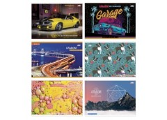 альбом Бриск Gold на скобе АВ-32  30л./120гр.  (12/96)