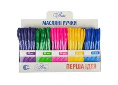 ручка Color-it Beta шар. масляная син.  8010  (150/3000)