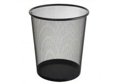 корзина для мусора J.Otten металлич. кругл. малая черная 27х24см.  2089-BK  (24)...