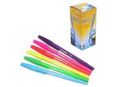 ручка Beifa AA110В цв. корпус барх. син.  (50/1000/4000)