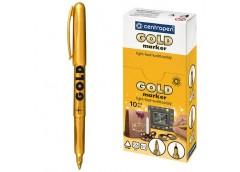 маркер Centropen 2690 перманентный тонкий золото  (10/200)