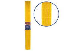 бумага гофр. J.Otten KR150-8046 темно-желтая  150%  238г/м2  (50см.х200см.)  (1/...