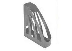 лоток для бумаг вертик. ЛВ-03 пластмас. на 1отд. (КИП) серый  (14)