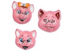 маска  Свинка  Н17-1  (12/120)