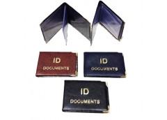 обложка Tascom на ІD-документы кожзам узкая с вкладышем  129-Pa  (25)