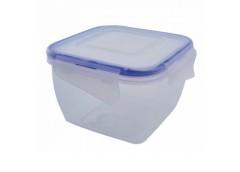 контейнер для пищевых продуктов Алеана с зажимом квадр. 1,5л.  (5/45)