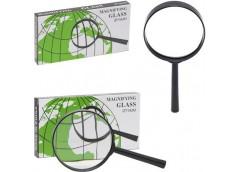 лупа Glass пластиков. оправа  75мм. 4-х кратное увелич.  75-YB (YB19013-75)  (10...