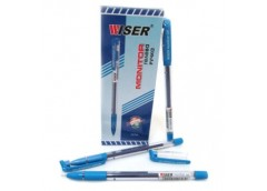 ручка Wiser Monitor гелевая, с грипом, синяя 0,6мм.  (12/144/1728)