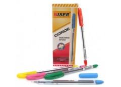 ручка Wiser Corde шариков. масл. 0,7мм. синяя  (12/144/1728)
