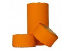 ценник Укр. малый (26х12мм) оранжевый 5м. (бабина - 6шт.)  (6/576)