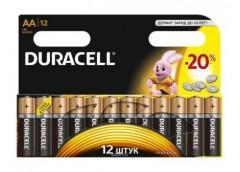 батарейка Duracell LR 6  1x12 блист. (144)